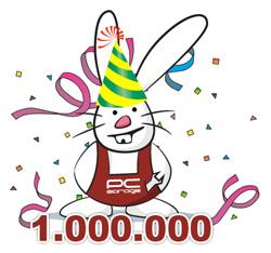 1.000.000 de mesaje My Garage