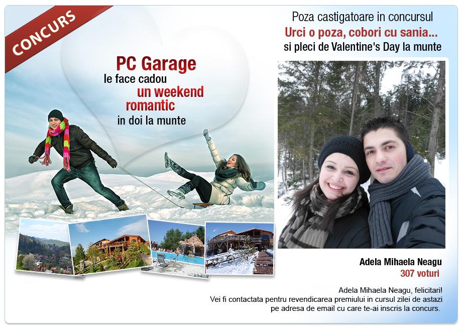 Castigator concurs urci o poza cobori cu sania si for Garage smart la valentine