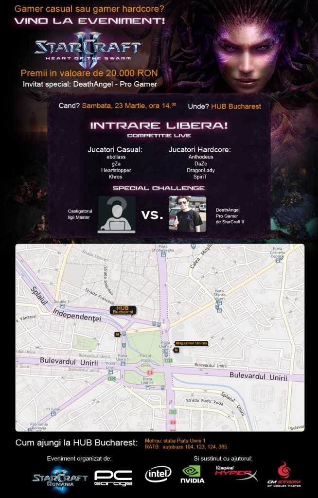 Harta event StarCraft II