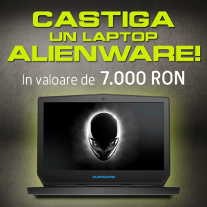 casti un laptop alienware